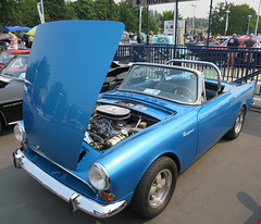 1965 Sunbeam Tiger (D70) Tags: dueck marine classic custom shownsnine 2017 vancouver bc canada 1965 sunbeam tiger is highperformance v8 version british rootes groups alpine roadster