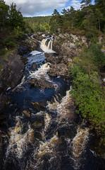 R17_1241-Pano (ronald groenendijk) Tags: cronaldgroenendijk 2017 rgflickrrg groenendijk landscape landschap nature natuur natuurfotografie outdoor rock ronaldgroenendijk rotsen schotland scotland steen waterfall waterval wildlife water river