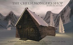 The Cheemonger's Shop @Genre (nea.narstrom) Tags: crafting medieval roleplay vikings torvaldsland north norse rustic building delkaaedilis