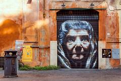 Street art dans le quartier de trastevere (nietsab) Tags: street art rome roma trastevere italy italie nietsab canon 600d