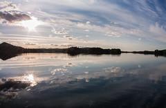 IMG_3280-1 (Andre56154) Tags: schweden sweden sverige wasser water see lake landschaft landscape himmel sky wolke cloud spiegelung reflexion reflection sonne sun