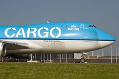 KLM Cargo (Martijn Groen) Tags: klm schiphol amsterdam netherlands nederland airport airplane airlines september 2017 taxiway cargo klmcargo boeing boeing747 freighter