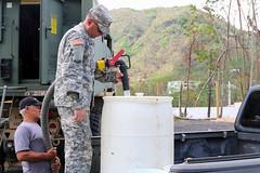 Puerto Rico and South Dakota National Guard