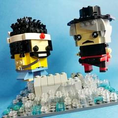 決戰自由神像!! (Rokan Cheung) Tags: lego brickheadz moc 中華英雄 無敵 華英雄