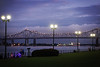 violet sky (lucymagoo_images) Tags: new orleans louisiana nola urban city sony rx100 mississippi river people bikes dusk clouds night lights weather cloudy