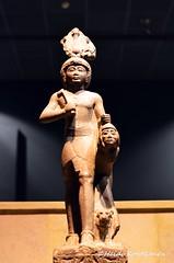 Ramses IV with an enemy (konde) Tags: ramsesvi 20thdynasty newkingdom karnakcachette ancientegypt luxormuseum statue granite karnak thebes