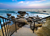Laguna Beach California (meeyak) Tags: heislerpark lagunabeach laguna beach stairs path walking rocks seascape landscape orangecounty westcoast california usa southerncalifornia meeyak sony a7r2 zeiss batis 18mm wideangle travel vacation outdoors adventure fall clouds sunset dusk