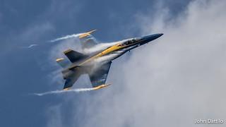 Blue Angles practice over Pensacola Florida