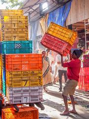 Mumbai 2015 (hunbille) Tags: birgittemumbai2lr dadar phool galli phoolgalli flower market bazaar