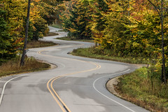 The Winding Road 287 of 365 (4) (bleedenm) Tags: 2017 doorcounty fall landscape theclearing wisconsin gillsrock