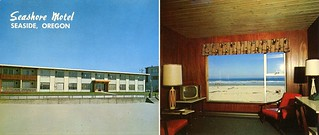 New Seashore Motel, Seaside, Oregon