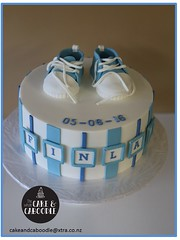 finlay (The Whole Cake and Caboodle ( lisa )) Tags: baby babyshower whangarei thewholecakeandcaboodle caboodle cake cakes cupcakes boy blue shoes baptism