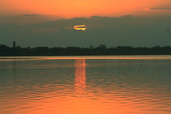 SUNRISE (R. D. SMITH) Tags: melbourneflorida dawn sunrise morning red canonrebelxsi river florida indianriver brevaedcountyforida