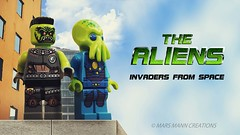 The Aliens (Invaders) poster [explored] (Mars Mann) Tags: legocreations aliens afol legophotography toyphotography poster alien lego monster zombies alieninvasion daylight day independenceday legography legominifigures minifigures marsmanncreations roof scifi creativephotography outerspace photoshop photomanipulation olympus cinematic plastictoys green greenface greenaliens greenfingers cinemaphotography rooftop specialfx postprocessing macrophotography effects vertigo clouds bluesky extraterrestrial movieposter two ufo camera flickr mars mann flickrmarsmann legomarsmann explore marsmannlego flickrlego marsmannonflickr