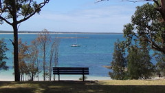 Bench view of Jervis Bay (spelio) Tags: tm ace nsw huskisson australia oct 2017 weekend travel