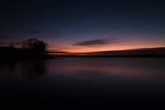 Dark Dawn (mclcbooks) Tags: dawn sunrise daybreak morning clouds light sky lake trees silhouettes reflections chatfieldstatepark lakechatfield colorado le longexposure