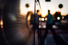 The Meeting Place (ewitsoe) Tags: bokeh people blurred morning impression nikon wall lights street capture abstract life living poznan ewitsoe 35mm walking shadows bokehpeopel urban cityscape wandering stilllife citylife