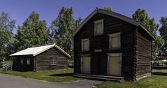 Old wooden houses in Sweden (Burminordlicht) Tags: woodenbuildings woodenhouses woodenhouse sweden swedishbuildings swedishhouse nordisch nordichouses scandinavian oldhouses holzhaus holzhäuser houseimages museum strömsund jämtland