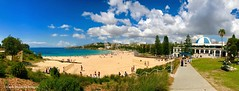 Coogee Beach, from Dunningham Reserve, Coogee, Sydney, NSW (Black Diamond Images) Tags: dunninghamreserve coogeebeach coogee sydney nsw australia beach australianbeaches sydneybeaches iphone appleiphone7plus iphone7plus panorama appleiphone7pluspanorama iphone7pluspanorama iphonepanorama sand sky sea