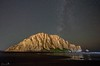 Morro Rock After Dark (Beth Sargent) Tags: morrobay morrorock night milkyway stars ocean sea water waves geology seascape nature bioluminescence sand surf tides sky explore astronomy droh dailyrayofhope