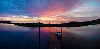 Sunrise Orr's Island - Maine