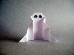 Easy Ghost - Martin and Marianne Gigandet (Rui.Roda) Tags: origami papiroflexia papierfalten halloween fantasma fantôme ghost stéphane gigandet