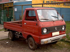 Daihatsu 55 Pick up 1981 (RL GNZLZ) Tags: minivan daihatsuhijet daihatsu55 pickup 1981 550