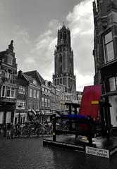 Mondriaan & Dom Tower (katy1279) Tags: mondrianutrechtdomtowernetherlandscolours