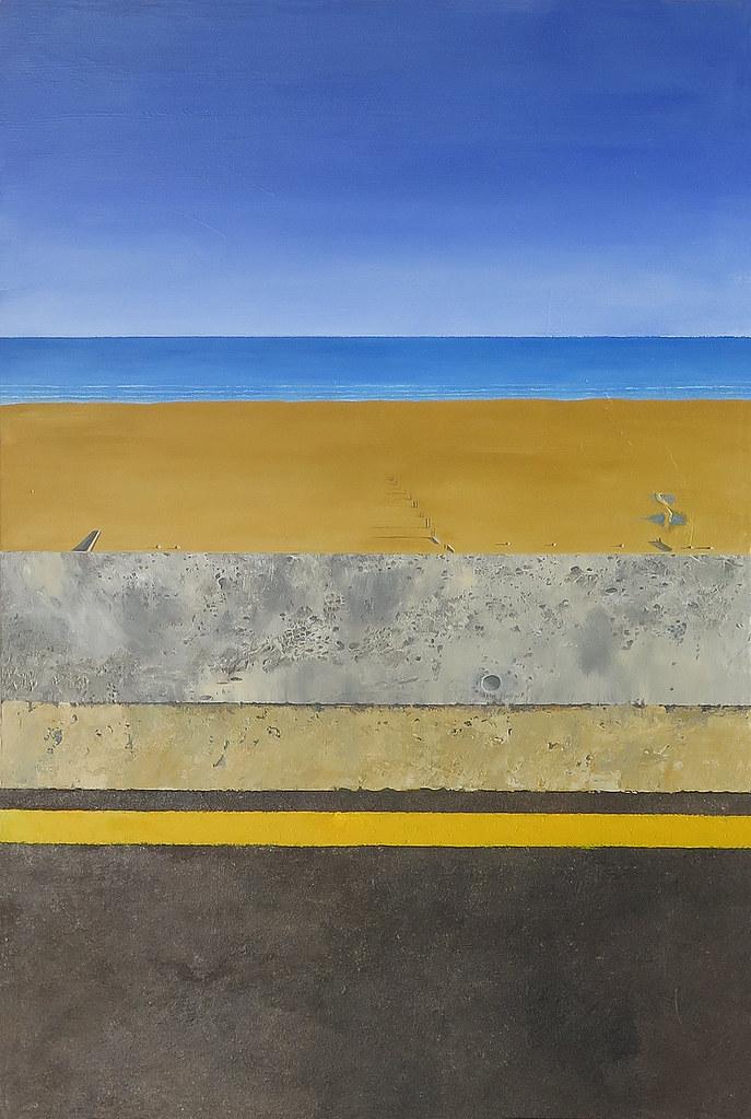Dymchurch Sea wall/beach.