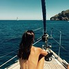 Vacaciones en el Mar 3 (The love boat) (*Backstage Photo*) Tags: summer sailing sailingboat boat boating sailboat girl verano mar mediterranean mediterraneo velero cala ibiza balearicislands baleares islas beauty beach nude nu nudism nudismo nudist nudista desnudo barco bavaria 46 iphone