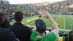 UO/Utah football (LarrynJill) Tags: football sports uo ducks autzen eugene or