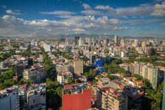 Mexico City Skyline (ap0013) Tags: city mx mex mexicocity skyline cityscape landscape cloud blue skies blueskies ciudad de méxico ciudaddeméxico cdmx