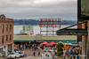 Pike Place Market (John H Bowman) Tags: washington kingcounty seattle pikeplacemarket baysinlets pugetsound elliottbay commercialbuildings signs neonsigns cloudyskies july2017 july 2017 canon24704l
