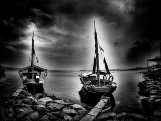 - anchored -  #harbor #beach #beachscape #beachscene #blackandwhitephotography #blackandwhitephoto #blackandwhite #bw #bwphotography #bnw #bnwphotography #monochrome #monochromephotography #other #freestyle
