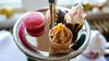 Afternoon tea at Pendray Inn and Tea House (Vancouverscape.com) Tags: 2017 britishcolumbia helijet victoria dining lodging travel