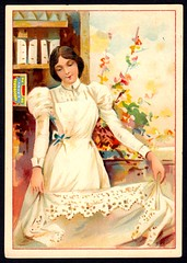 French Tradecard - Amidon Remy Starch (cigcardpix) Tags: tradecards advertising ephemera vintage french