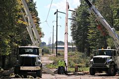 Western PA Transmission Line Underway (FirstEnergy Corp.) Tags: firstenergy westpennpower pennpower transmission mercercounty butlercounty servicereliability