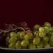 Weintrauben und Wein