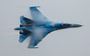 Sukhoi Su-27 Flanker Blue 58 074-1 (cwoodend..........Thanks) Tags: 2017 july2017 riat2017 royalinternationalairtatoo raffairford fairford totterdown ukrainian tacticalaviationbrigade sukoi flanker blue58 58 831sttacticalaviationbrigade su27 sukhoisu27 sukhoisu27flanker su27flanker
