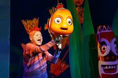 Nemo and Friend (ranzino) Tags: animalkingdom baylake disneyworldvacation disneysanimalkingdom fl findingnemothemusical nemo orlando themepark vacation kissimmee florida unitedstates us