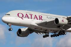 A7-APB_1 (Daniel Hobbs | Spot2Log) Tags: heathrow airport heathrowairport egll lhr aircraft airplane plane airbus a380 qatar qatarairways