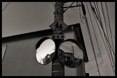 Tokyo Metropolitan Area: Impressions of a great city (Matthias Harbers) Tags: nikon 1 v3 dxo photoshop japan bw black white 6713mm nikkor outdoor architecture elements topaz labs omot tokyo metropolitan living home monochrome city street life impression car road