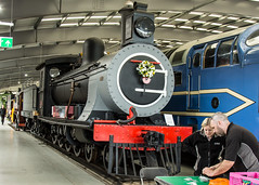 390 (JOHN BRACE) Tags: built by sharps glasgow 1896 for south africa railway class 7 steam loco 390 was give david shepherd gift 1970 donating helicopter wildlife protection work