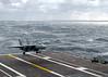 040225-N-4757S-028 (gary66052002) Tags: f14a tomcat vf213 lands flightdeck ussharrystruman roughseas carrierqualification flightdeckcertification norfolk us
