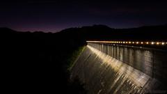 Fontana Dam 8 of 17 (Mr. Low Notes) Tags: 70d tva fontana dam fontanadam outdoors dusk dark night nightshot nightphotography power electricity electric nc mountains water sky stars