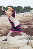 Jump! (karenmarquick) Tags: jumping kids fun beach seaside autumn october mudeford christchurch dorset