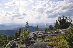 On Top Of Mt. Zircon (joyolsonnichols) Tags: nichols mtzircon maine mainescenes summerinmaine