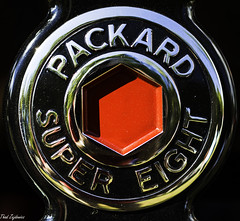 Packard Wheel Hub (Thad Zajdowicz) Tags: zajdowicz rockville maryland usa packard text words letters automobile car vehicle classic detail closeup color sign steel metal chrome insignia canon eos 7d dslr digital lightroom availablelight outdoor outside 50mm primelens ef50mmf12lusm