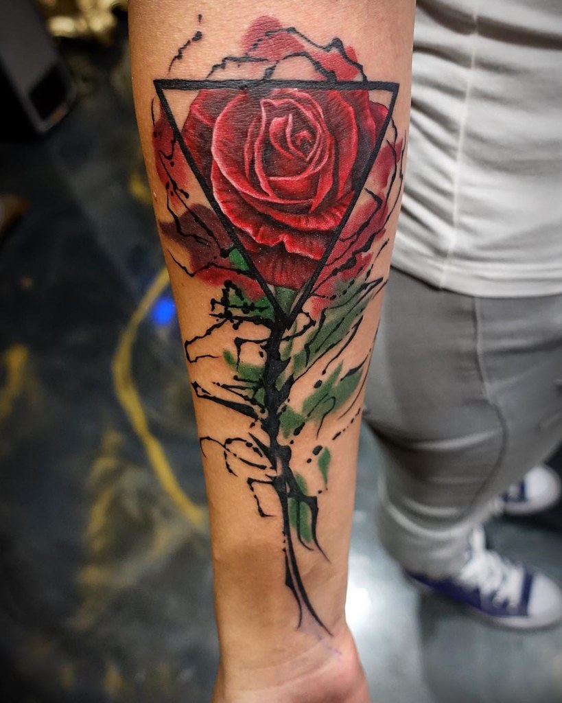 The world 39 s most recently posted photos of tattoo and for Las vegas skyline tattoo