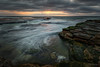 Reaching (Crouchy69) Tags: sunrise dawn landscape seascape ocean sea water coast clouds sky rocks flow motion turimetta beach sydney australia